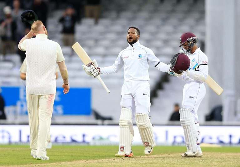 Shai Hope helped West Indies pull off a stunning victory