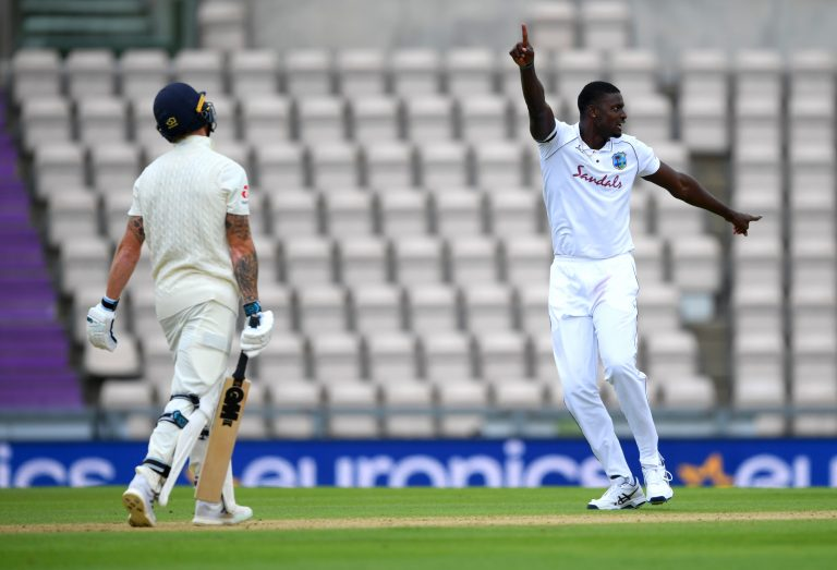 Jason Holder was the spearhead for the West Indies