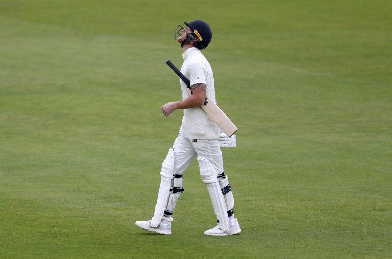 Jason Holder claimed the key wicket of Ben Stokes