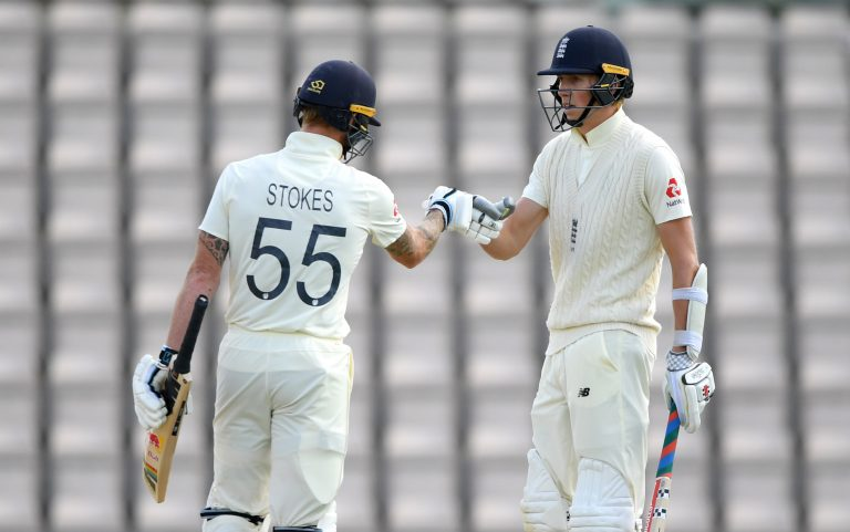 Zak Crawley and Ben Stokes put on a decent partnership