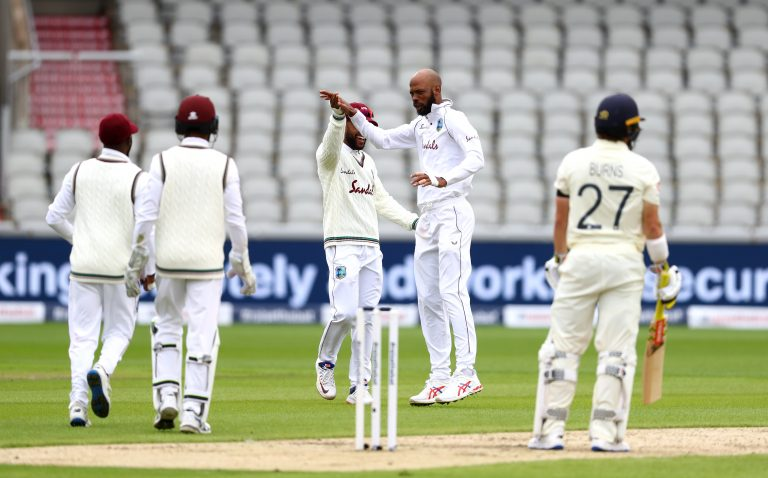 Roston Chase did the early damage for West Indies
