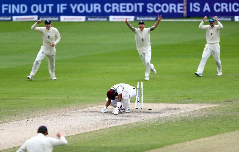 Shai Hope was bowled