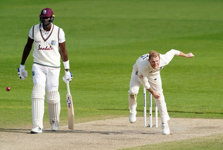 Stokes took two wickets on Monday after registering 78 not out with the bat (Jon Super/NMC Pool/PA).