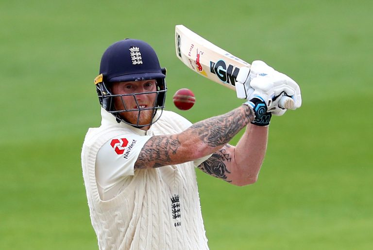 Ben Stokes was in fine form for England