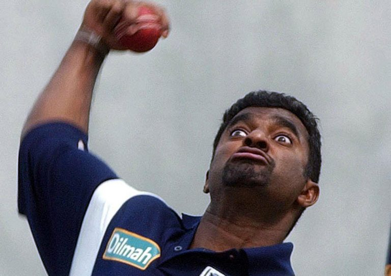 Murali's action was called into question for throwing a number of times during his career