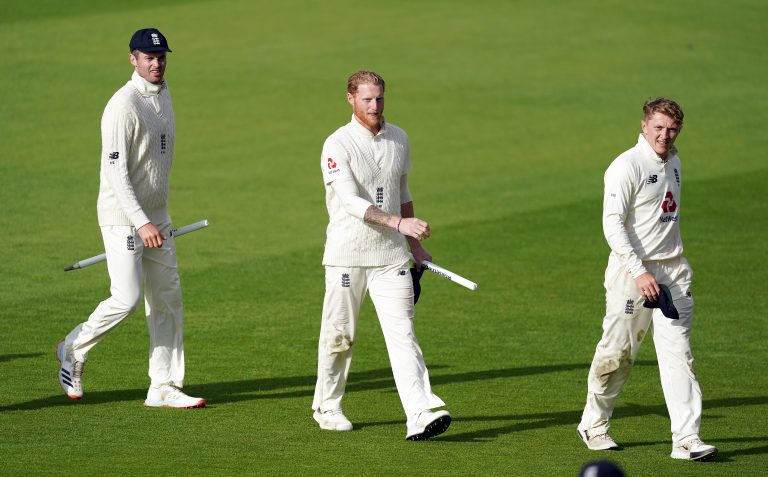 Ben Stokes (centre) has become the world number one all-rounder