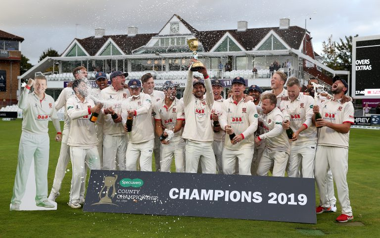 Essex are the reigning county champions