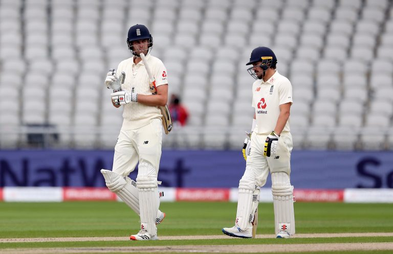 England v West Indies – Third Test – Day One – Emirates Old Trafford
