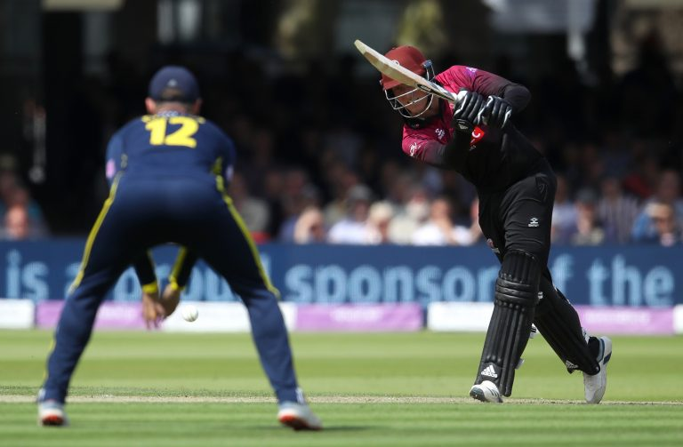Banton's form for Somerset saw him catapulted into the England setup