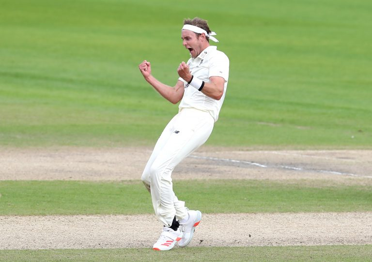 Stuart Broad excelled with bat and ball for England