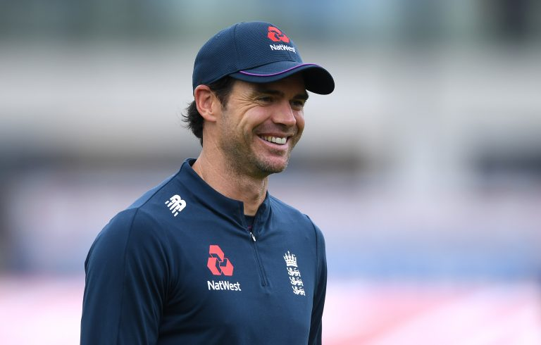 James Anderson still leads the way for England