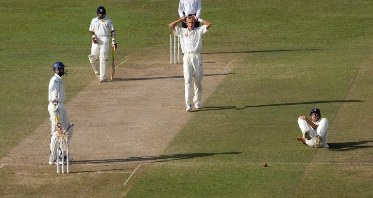 Stuart Broad made his debut in the Second Test at Columbo in 2007, where he took one for 95