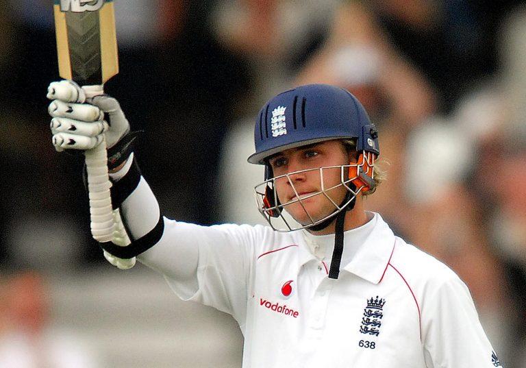 Broad scored his maiden half-century against New Zealand at Trent Bridge in 2008