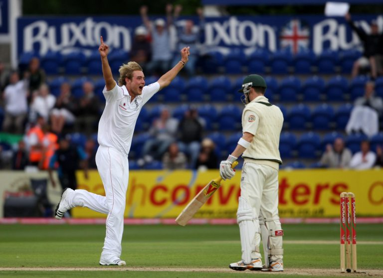 In the 2009 Ashes, Broad dismissed Michael Clarke for the first time, he went on to dismiss the Australian 11 times during his career
