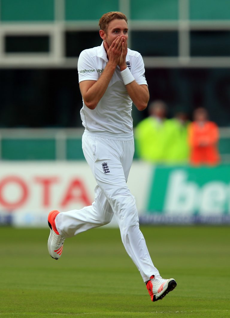In the 2015 Ashes, Broad powered through Australia with incredible figures of eight for 15 as the visitors were bowled out for just 60