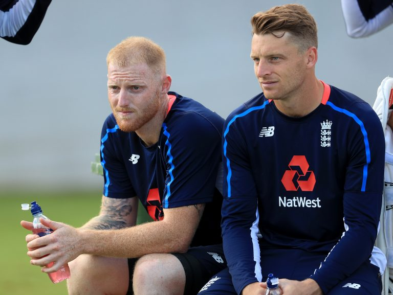 England will be without Ben Stokes, left, and Jos Buttler for the series against Ireland (Mike Egerton/PA)