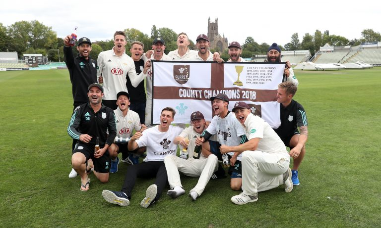 Surrey were crowned County Championship winners two seasons ago