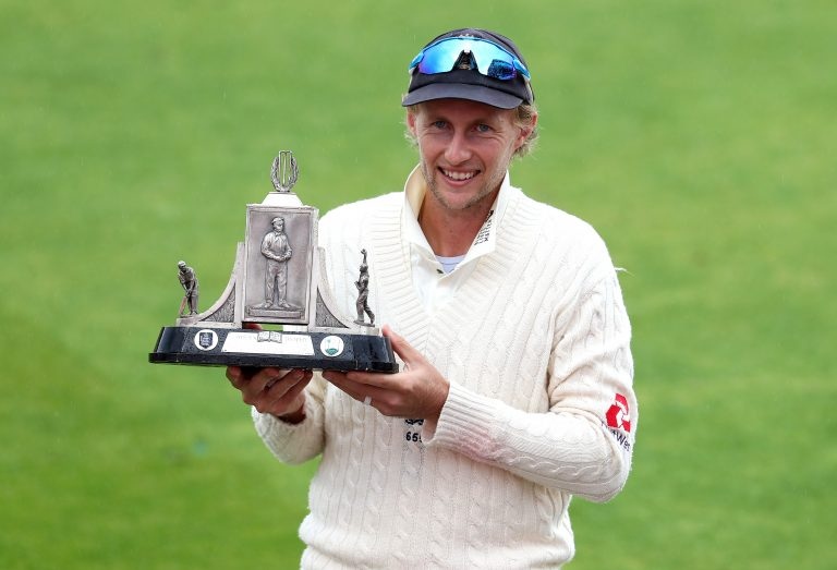 Joe Root is hoping for another series win after lifting the Wisden Trophy in July.