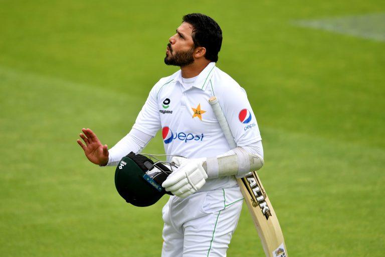 Pakistan captain Azhar Ali was quickly dismissed