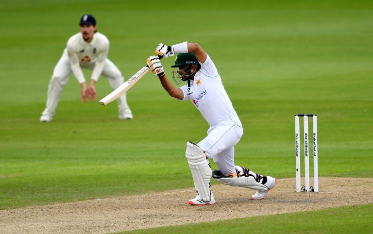 Babar Azam led Pakistan's recovery against England