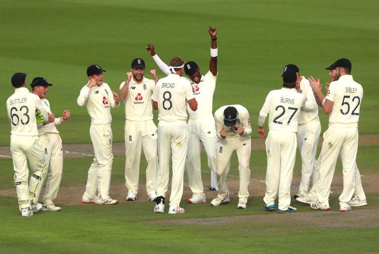 England produced a fine response