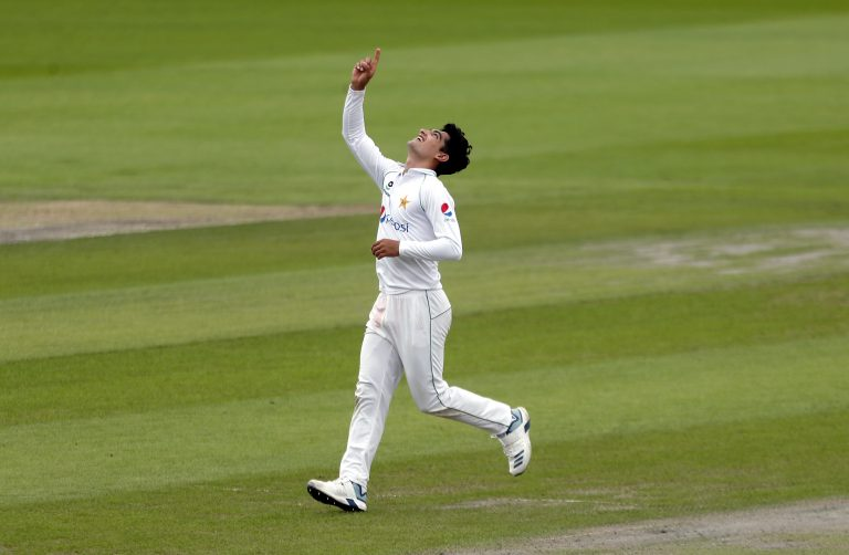 Pakistan's Naseem Shah is just 17, but is capable of bowling 90mph