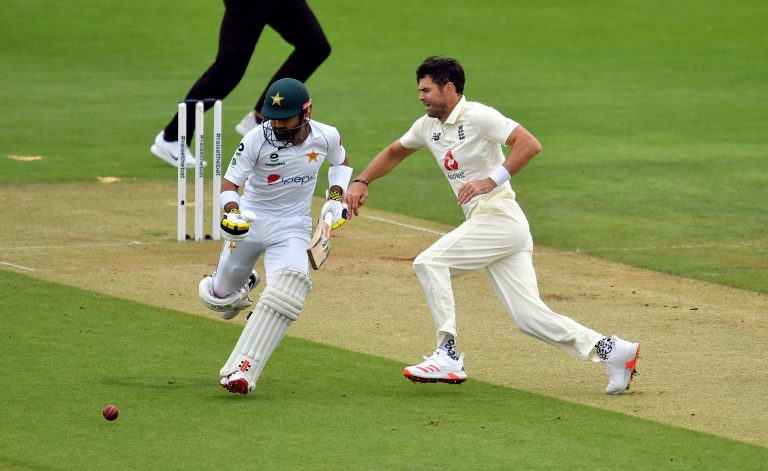 Pakistan's Mohammad Rizwan gave England and James Anderson the run-around on Friday