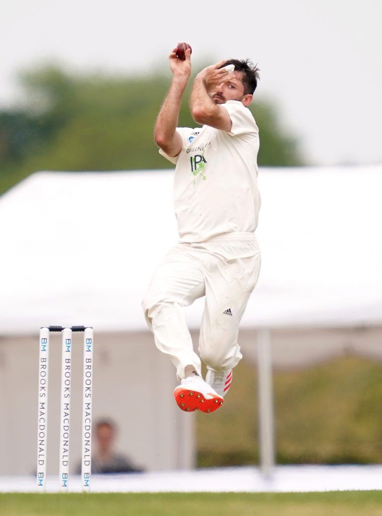 Ian Holland claimed a maiden five-wicket haul