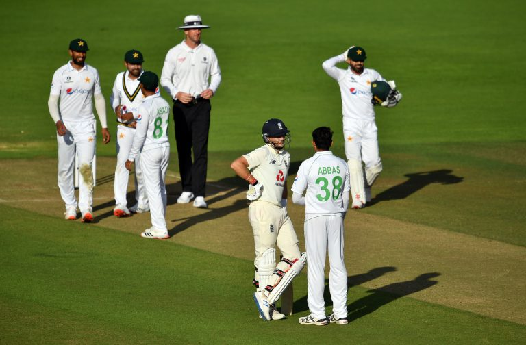 England's second Test against Pakistan ended in a draw