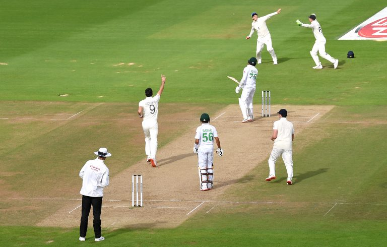 James Anderson removed Azhar Ali to claim his 600th Test wicket