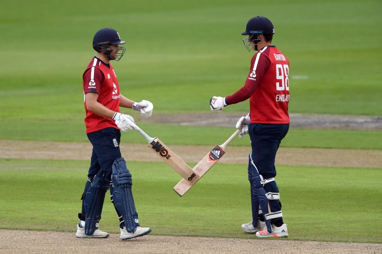 Dawid Malan (left) and Tom Banton (right) could both be eyeing up Buttler's opening slot.