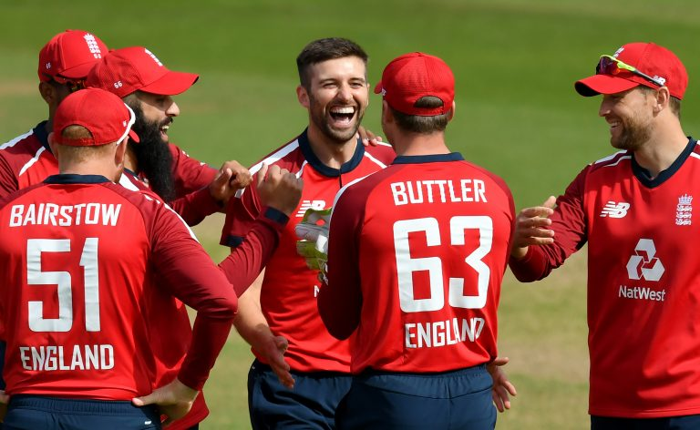 Mark Wood (centre) and Jofra Archer offer raw pace.
