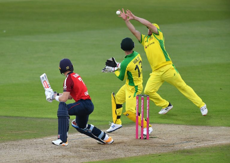 Sam Billings fell cheaply on his return to the side.