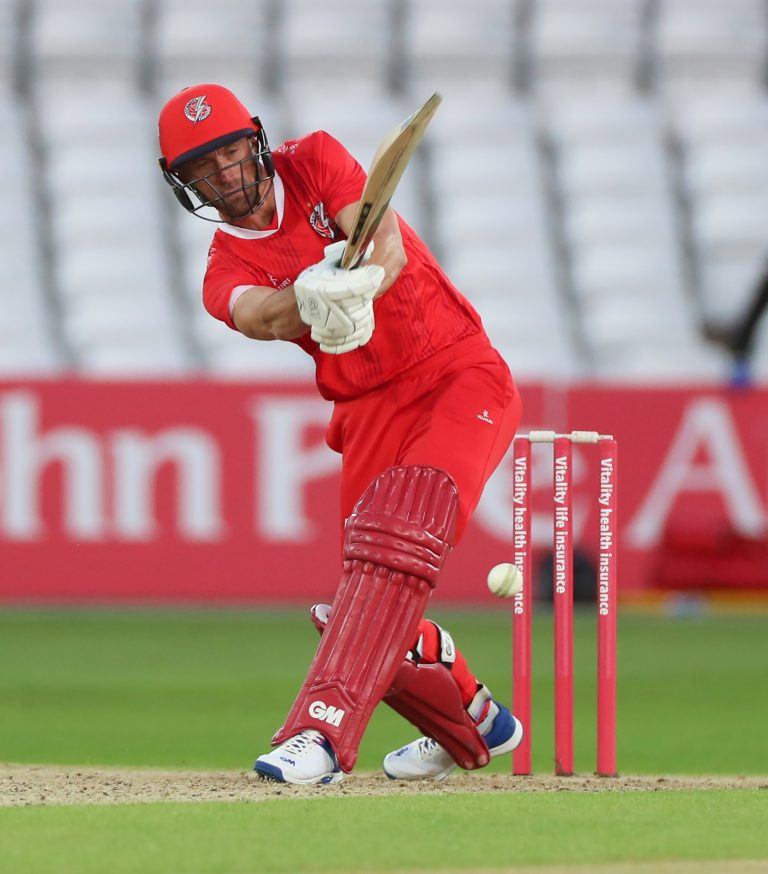 Dane Vilas steered Lancashire to victory over Yorkshire