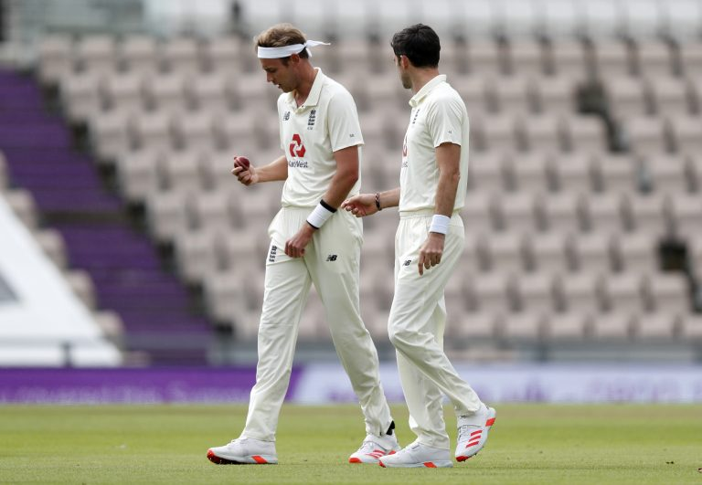 Stuart Broad and James Anderson reached landmarks this summer