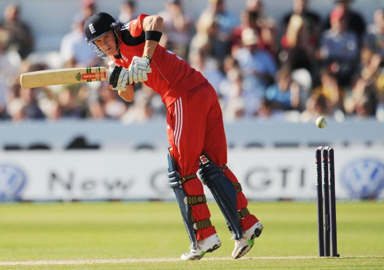 England opener Joe Denly made 53
