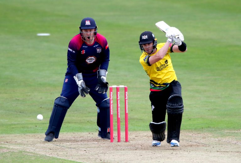 Ian Cockbain hits out in his side's quarter-final win against Sussex.