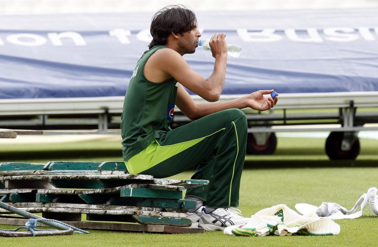 Mohammad Asif would later find himself embroiled in a spot-fixing scandal.