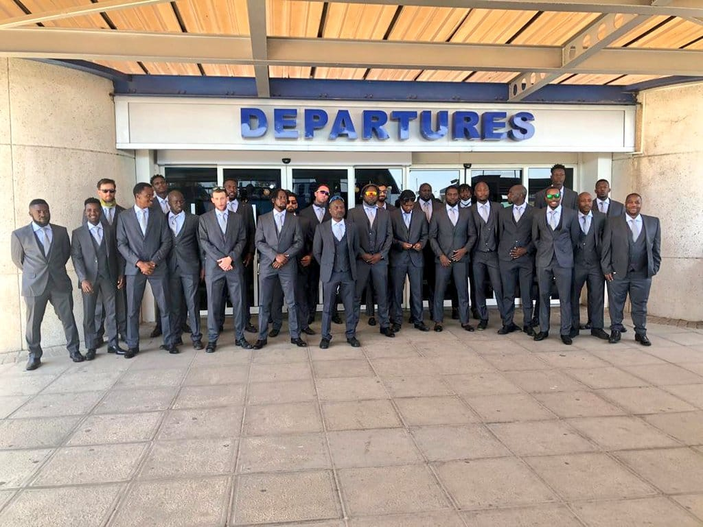 Zimbabwe squad jets out for their first tour since lockdown