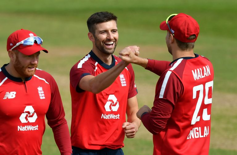 Mark Wood, centre, admitted he has a