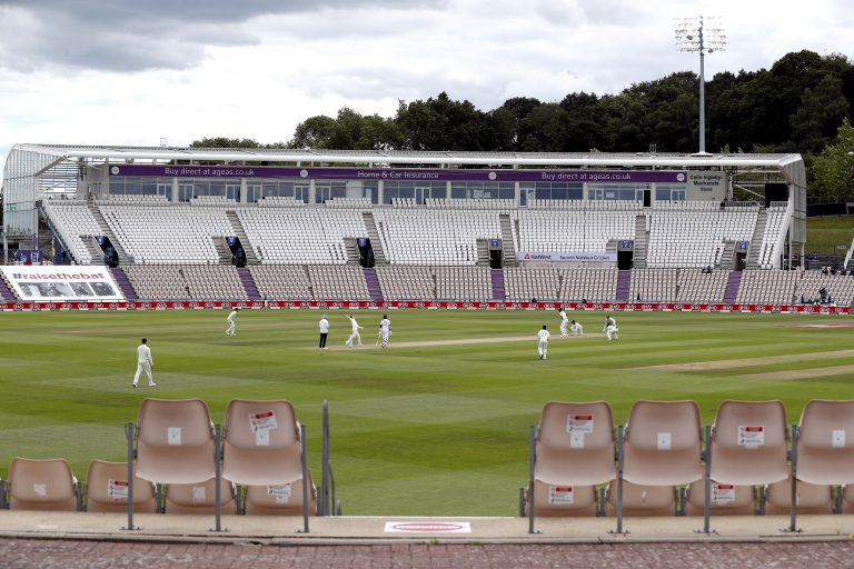 England played under coronavirus restrictions at home last summer