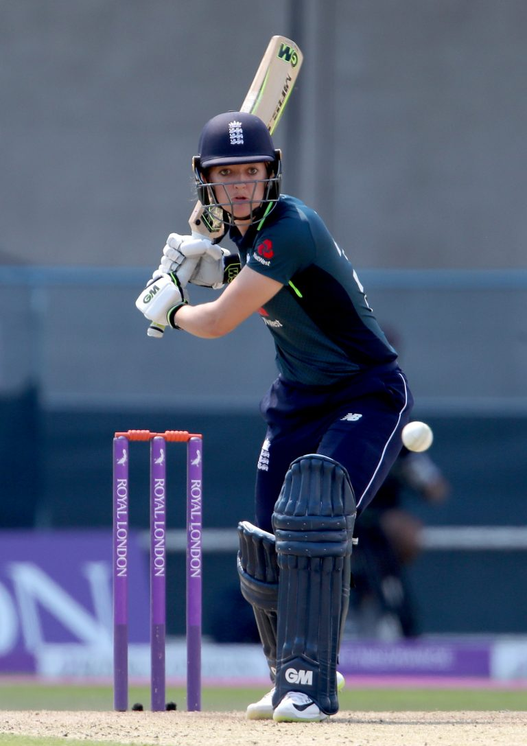 England's Sarah Taylor has been nominated for the Rachael Heyhoe Flint Award