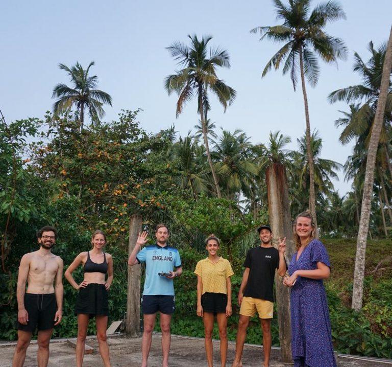 Rob Lewis in Sri Lanka