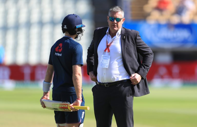 ECB managing director Ashley Giles has been on the tour.