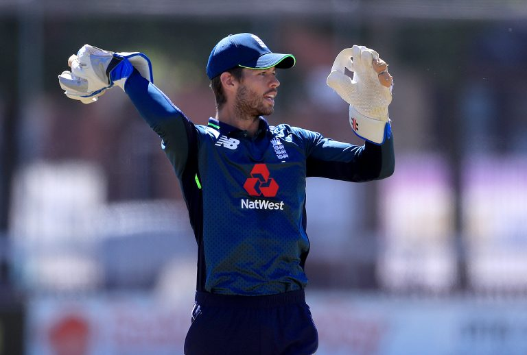 Ben Foakes is waiting in the wings for another chance with England.