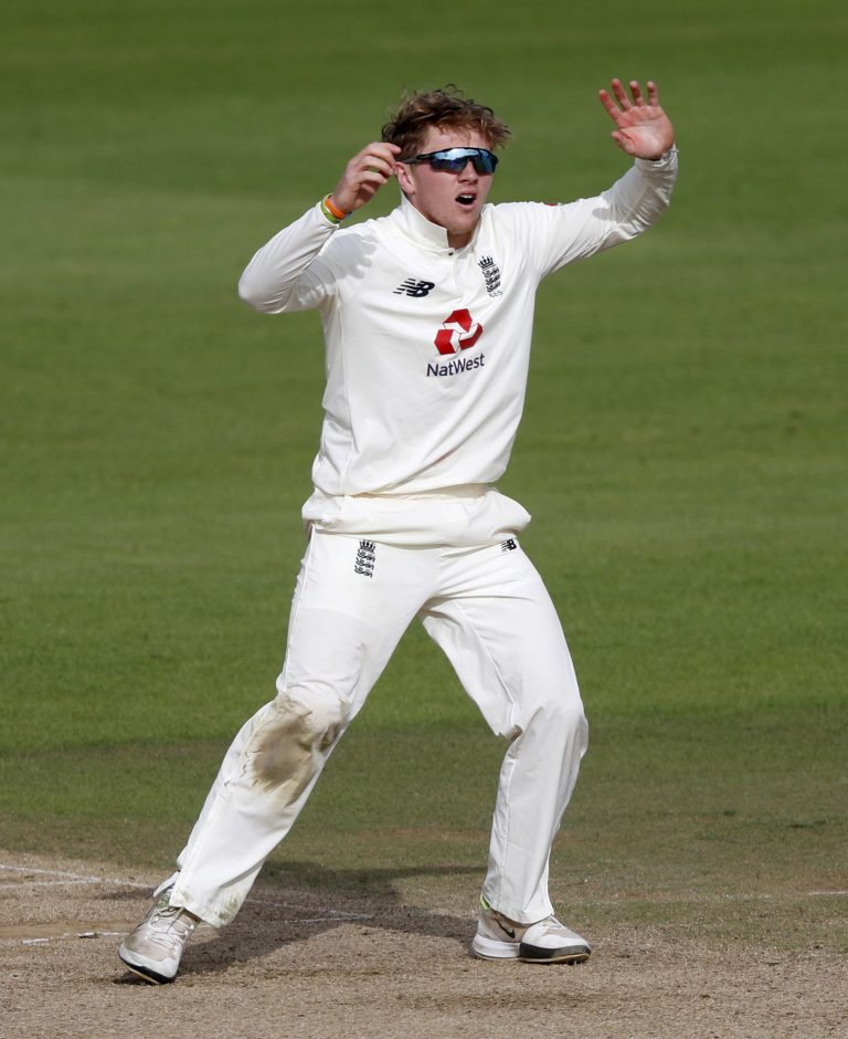 Dom Bess took five wickets in his first sub-continental appearance.