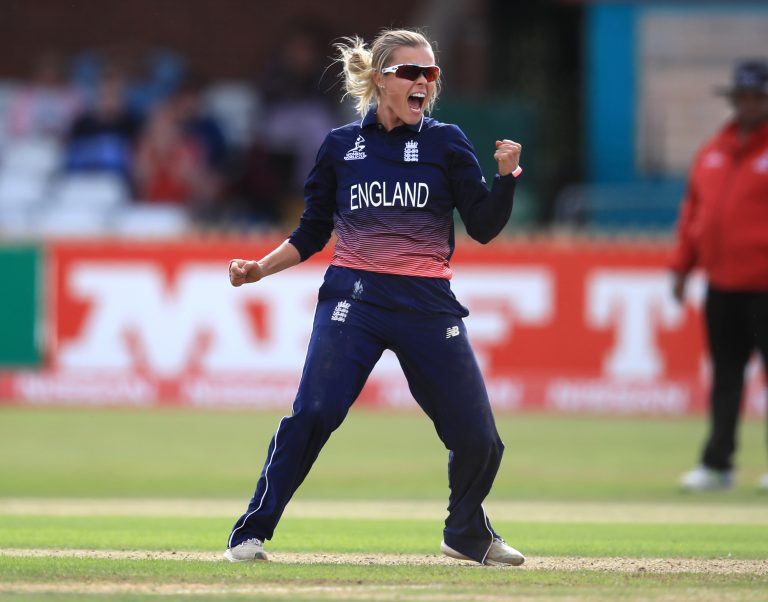 Alex Hartley was a key member of the England side that won the Women's World Cup in 2017 (Mike Egerton/PA)