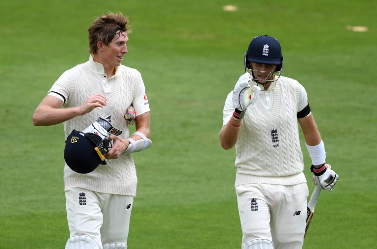 Joe Root (right) will revise his planned XI after Zak Crawley's (left) injury.