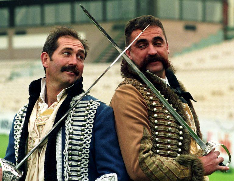 Graham Gooch (left) crossed swords with Australia plenty of times in his long career.