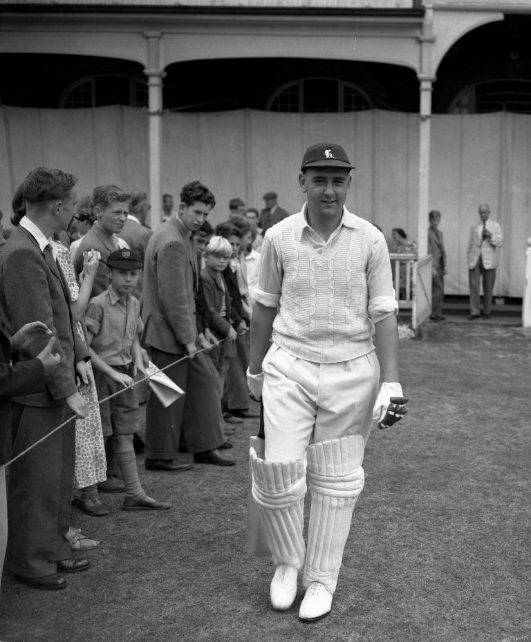 Sir Colin Cowdrey was the first Test player to 100 Test caps.
